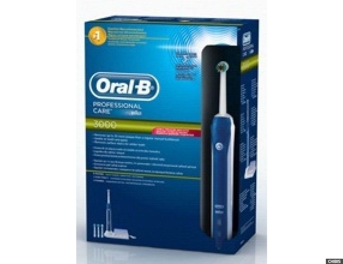 Электрическая зубная щетка Oral B Braun Professional Care 3000 (D20.575.3) тип 3757 7 нас