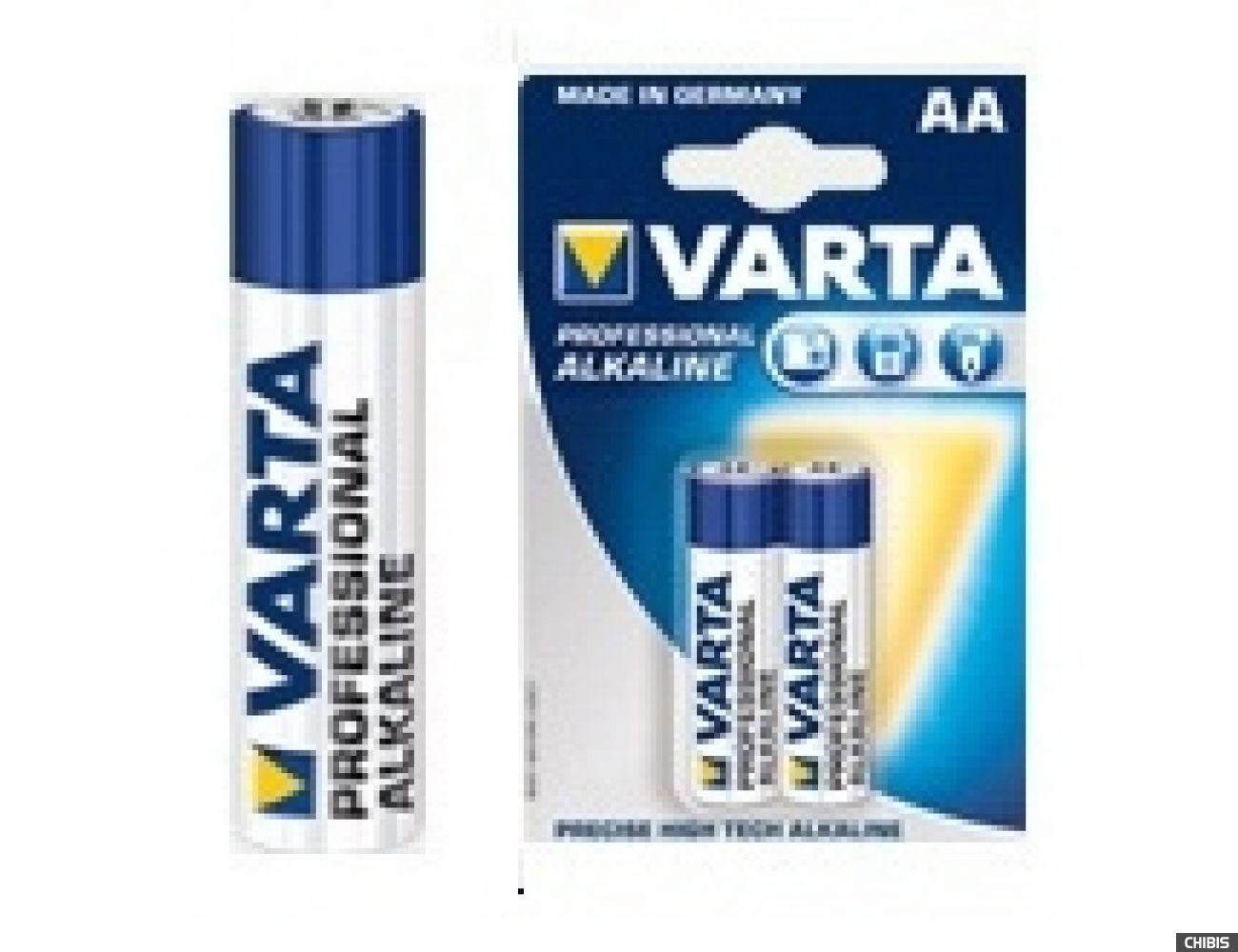 Батарейка Varta AA Professional (LR06, 1.5V, Alkaline  Щелочная) 04206201404