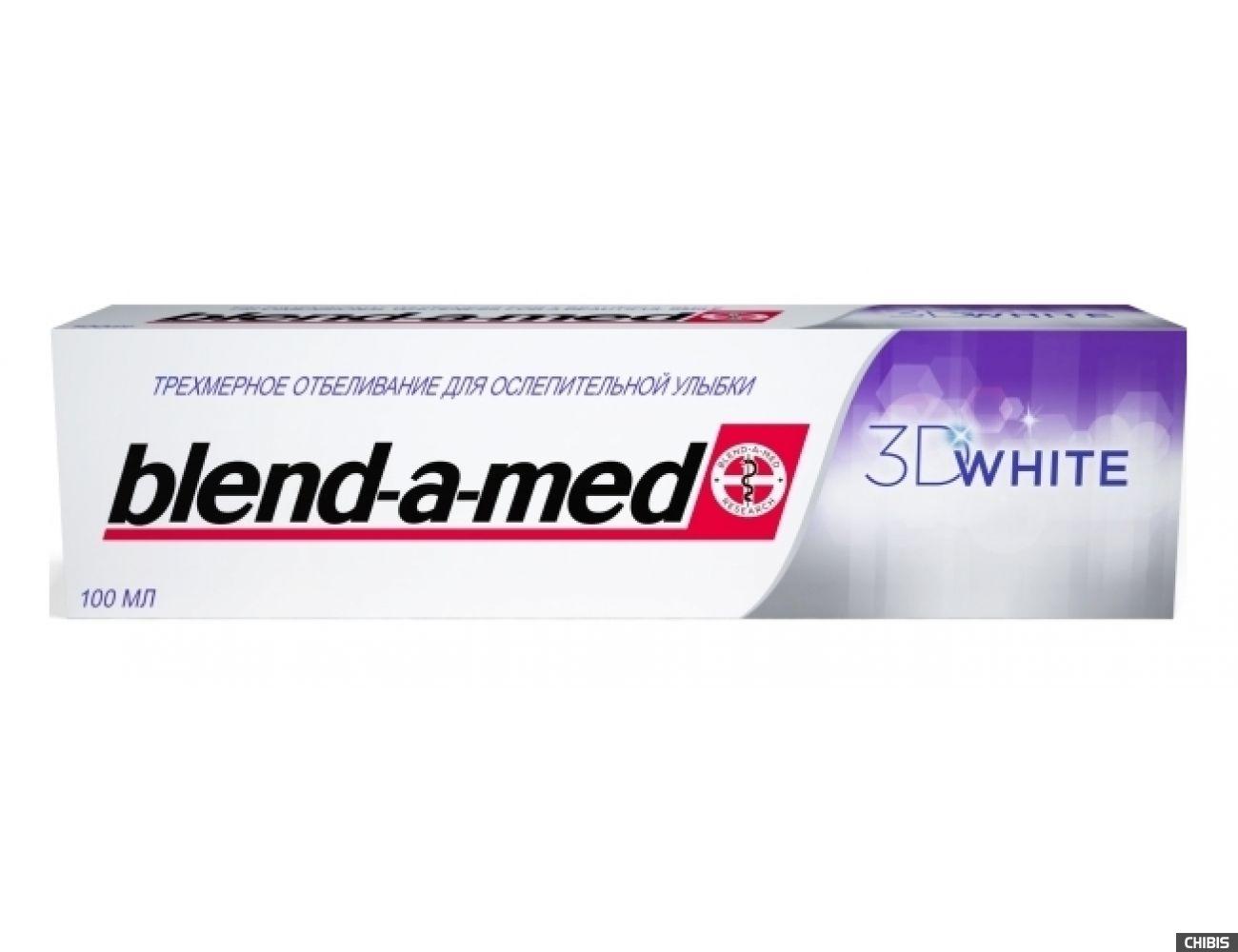 Зубная паста Blend-a-med 3D White Отбеливание 100 мл.(5000174415773)