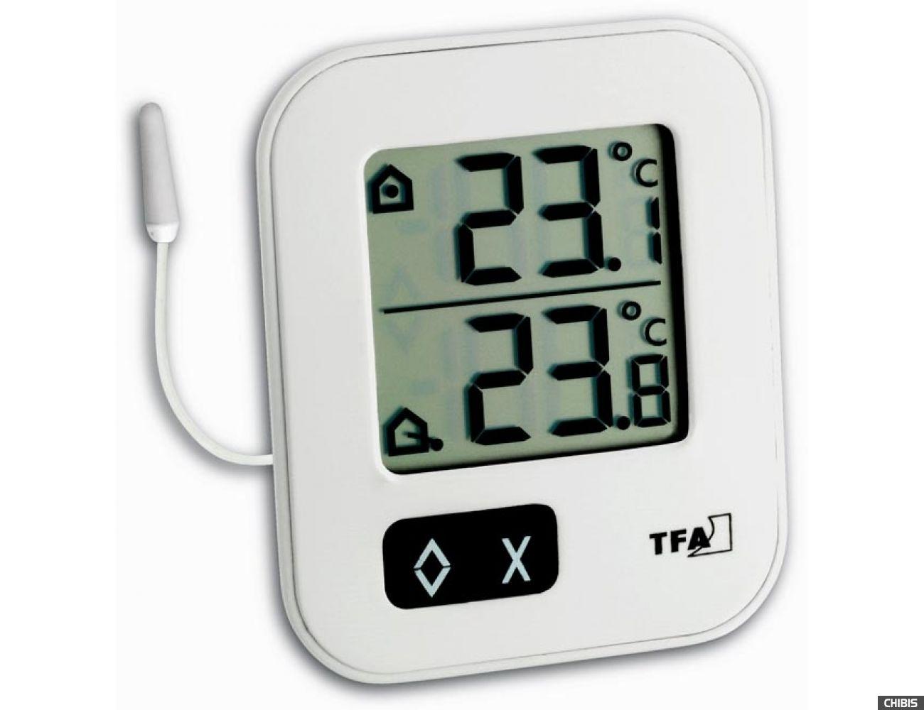 "Термометр TFA ""Moxx"" (30104302) белый"