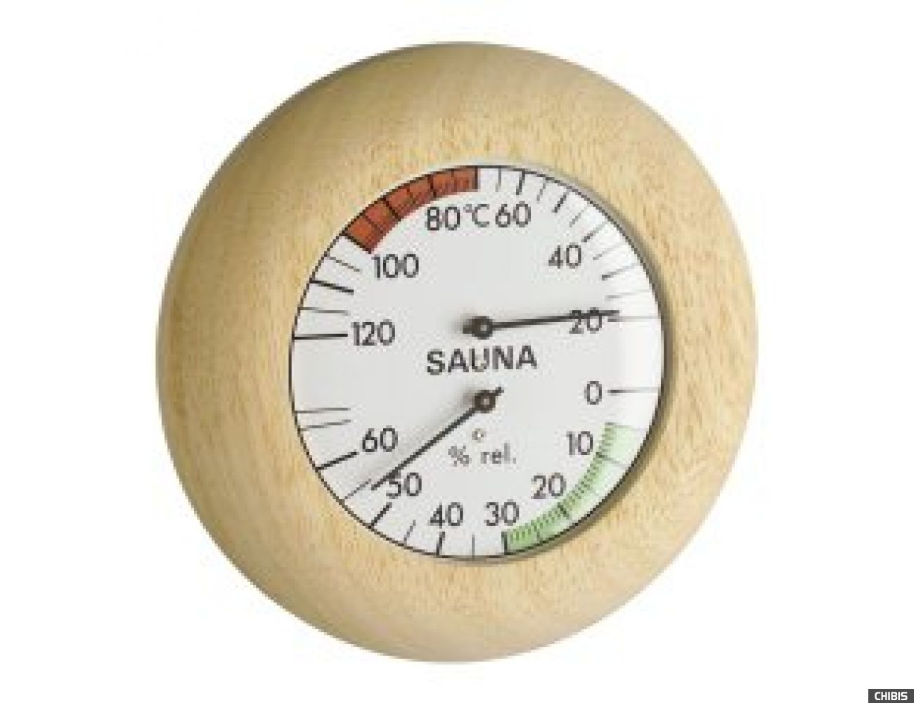 Термогигрометр TFA (401028) для сауны, дерево