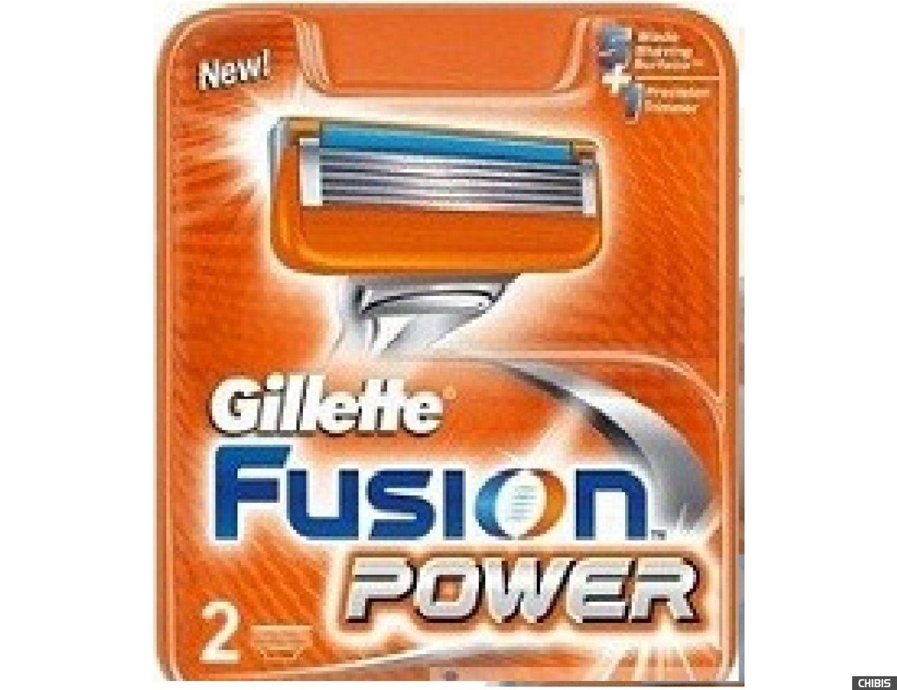 Gillette Fusion Power лезвия для бритвы 2 шт 7702018877560