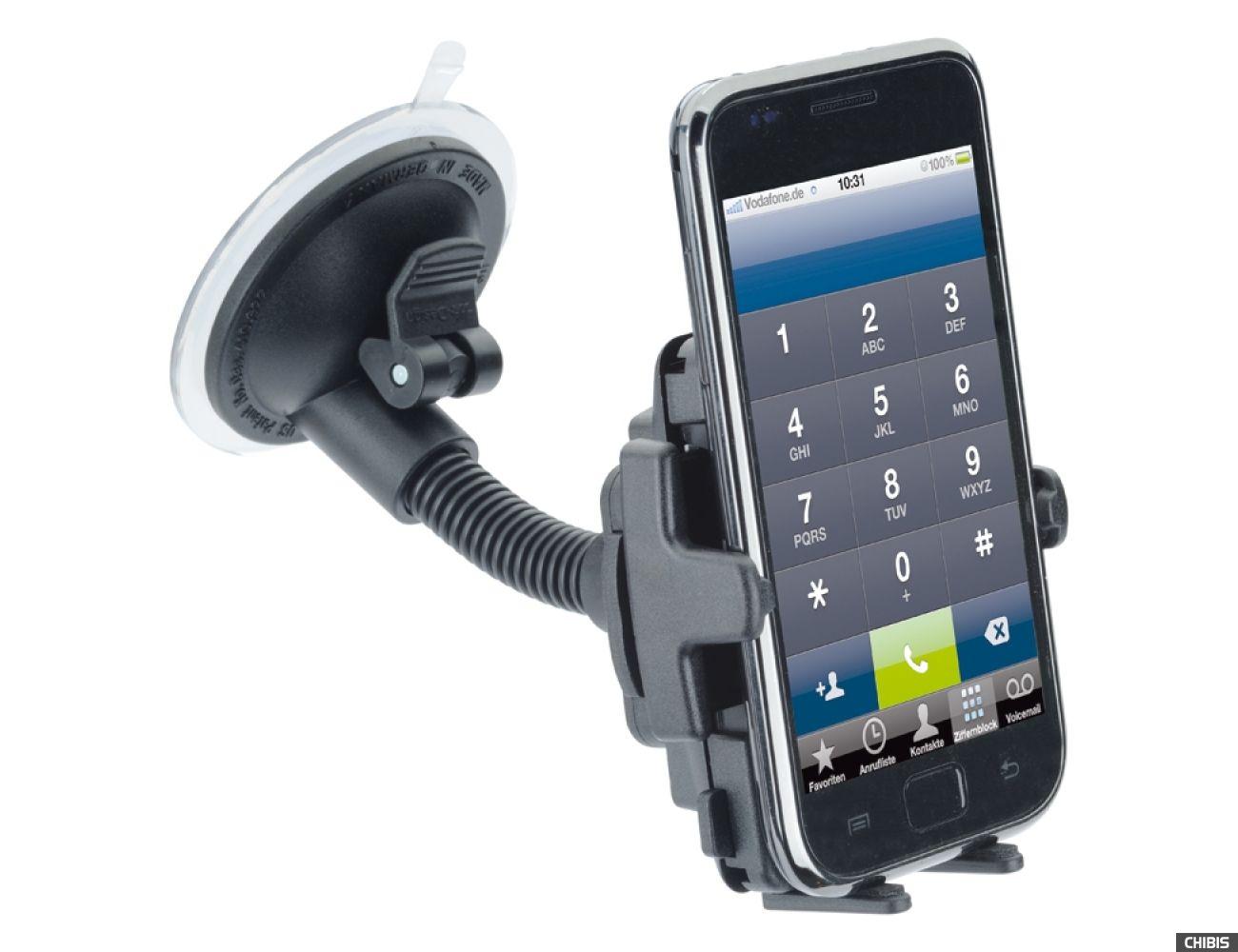Автодержатель на стекло iGrip miniFlexer Kit (T5-1843) для смартфонов + адаптер на торпедо