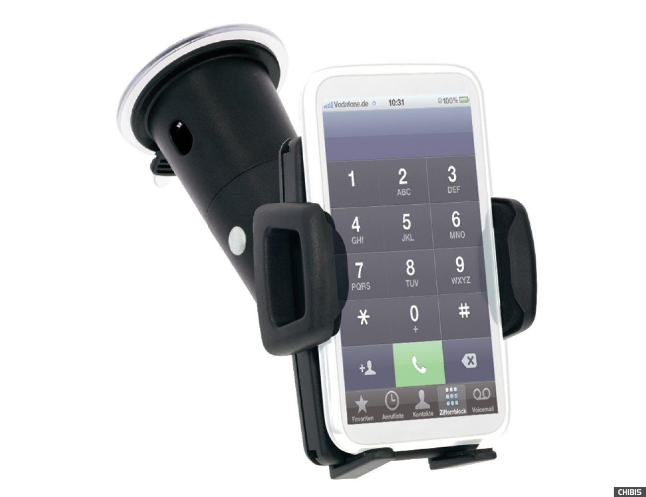 Автодержатель на стекло iGrip ROK Kit (T5-1223) для смартфонов