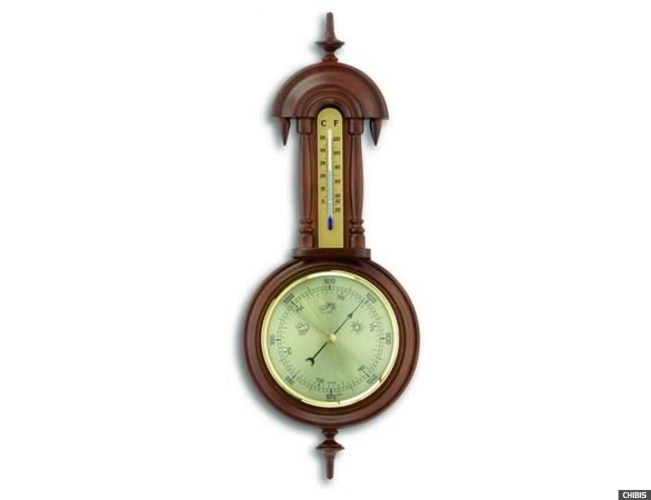 Барометр TFA (451002) с термометром, орех