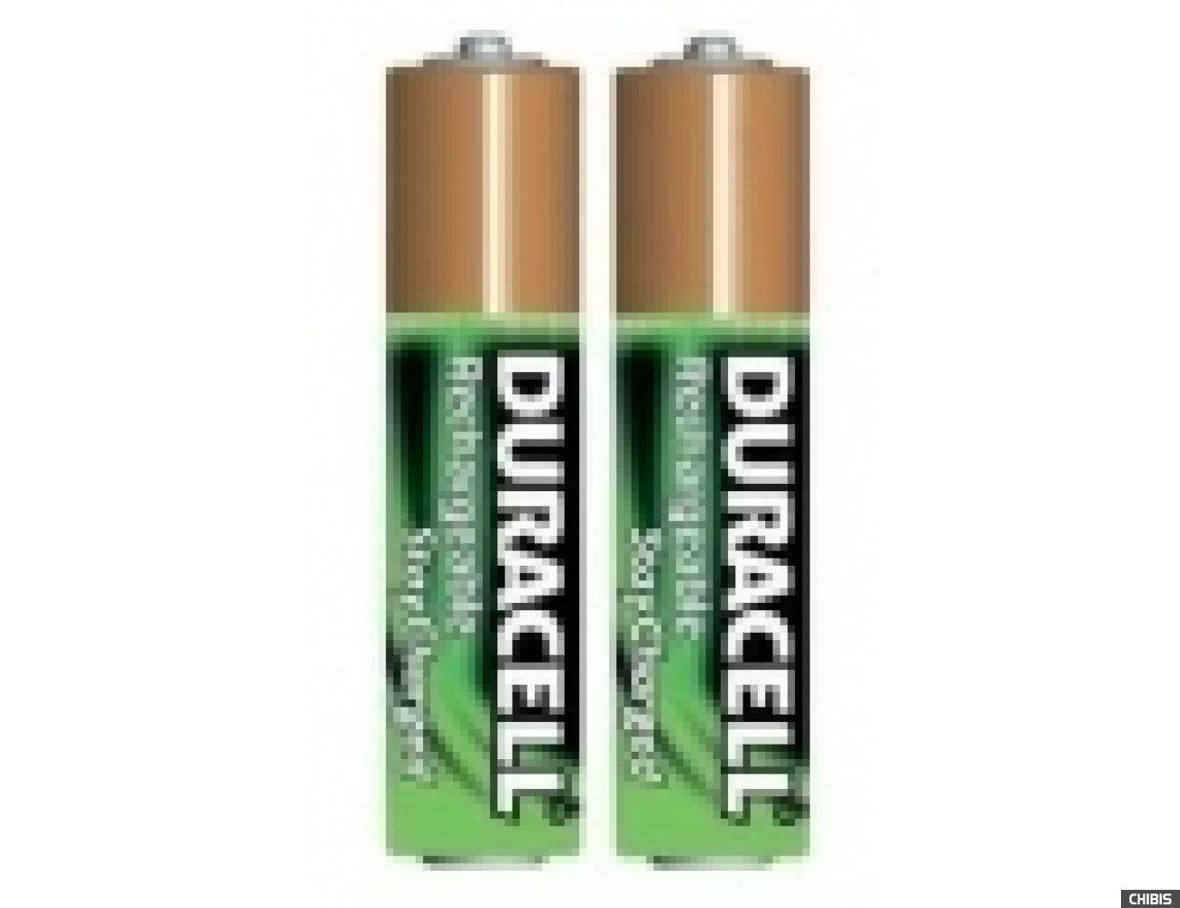 Аккумуляторные батарейки ААА Duracell 800 mAh (HR03, Ni-Mh, 1.2V) 2/2 шт. 5000394001176