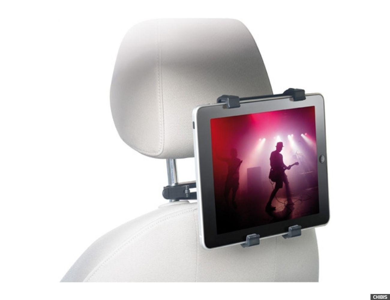 Автодержатель на подголовник Cellular Line для iPad 2/3 (DRIVEINIPAD)