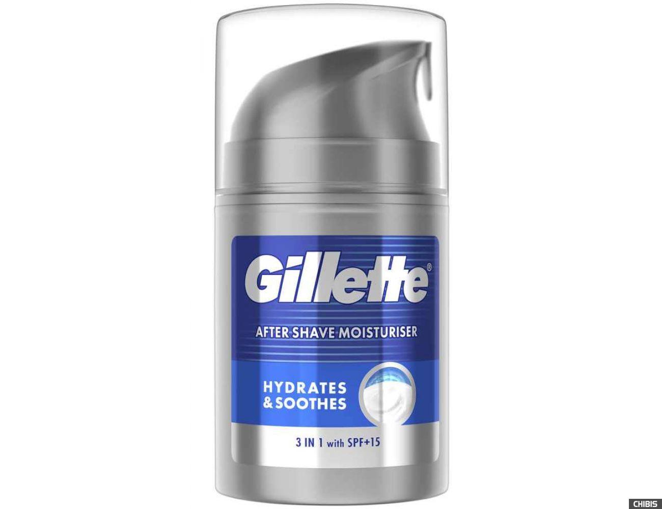 Бальзам после бритья Gillette Hydrates & soothes