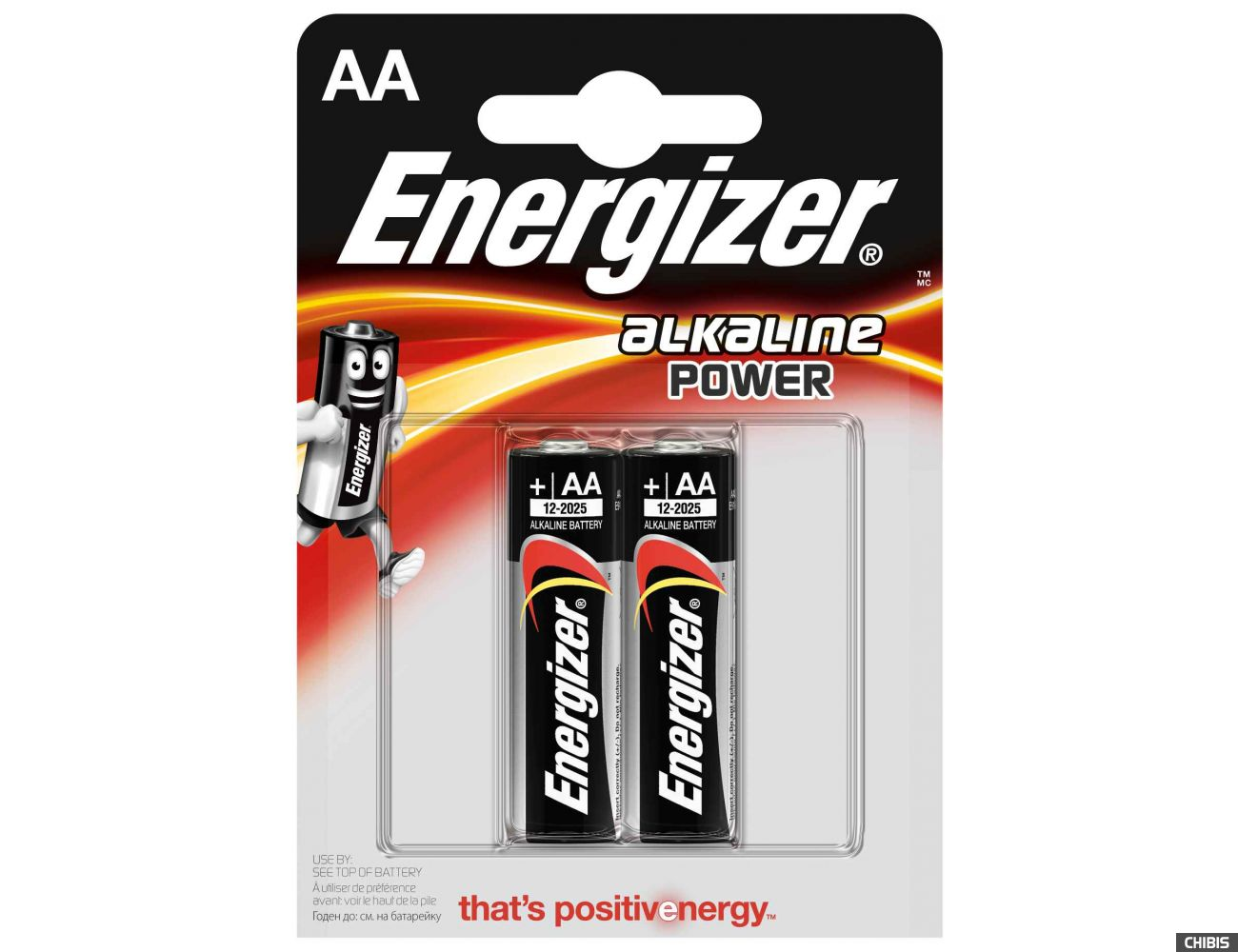 Батарейка АА Energizer Alkaline Power 2шт.