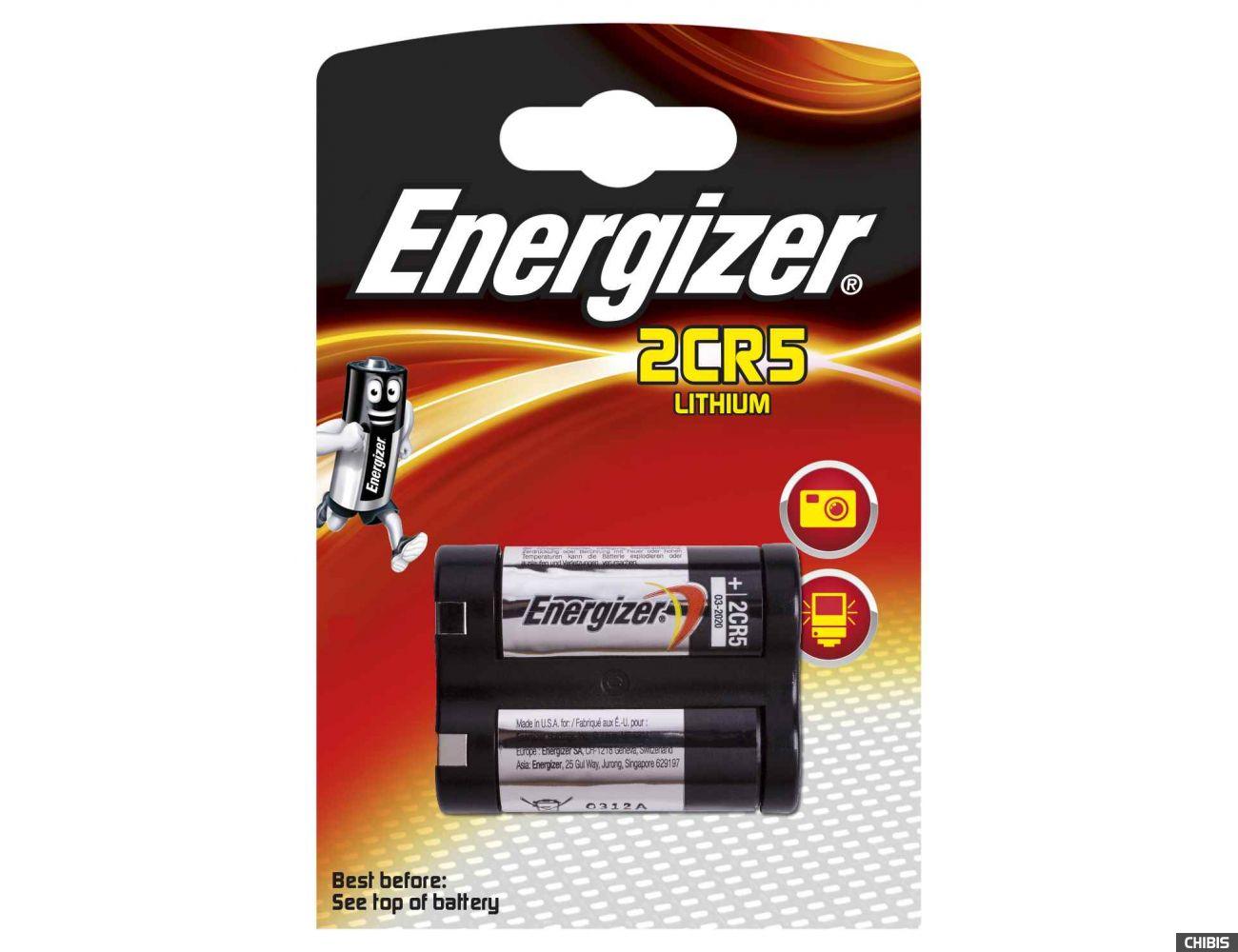 Батарейка Energizer 2CR5 Lithium