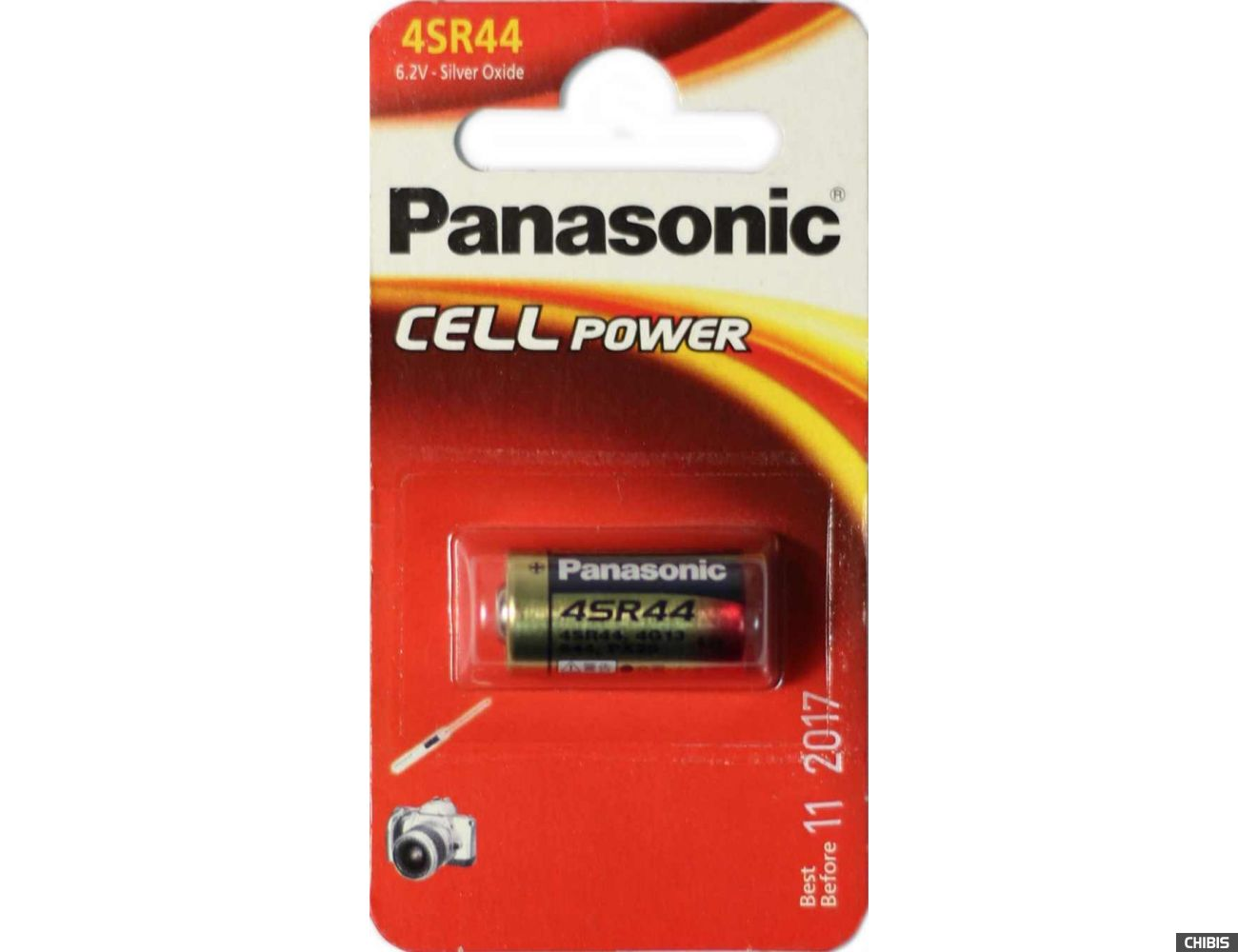 Батарейка Panasonic 4SR 44EL 6.2V блистер 1 шт (4LR44)