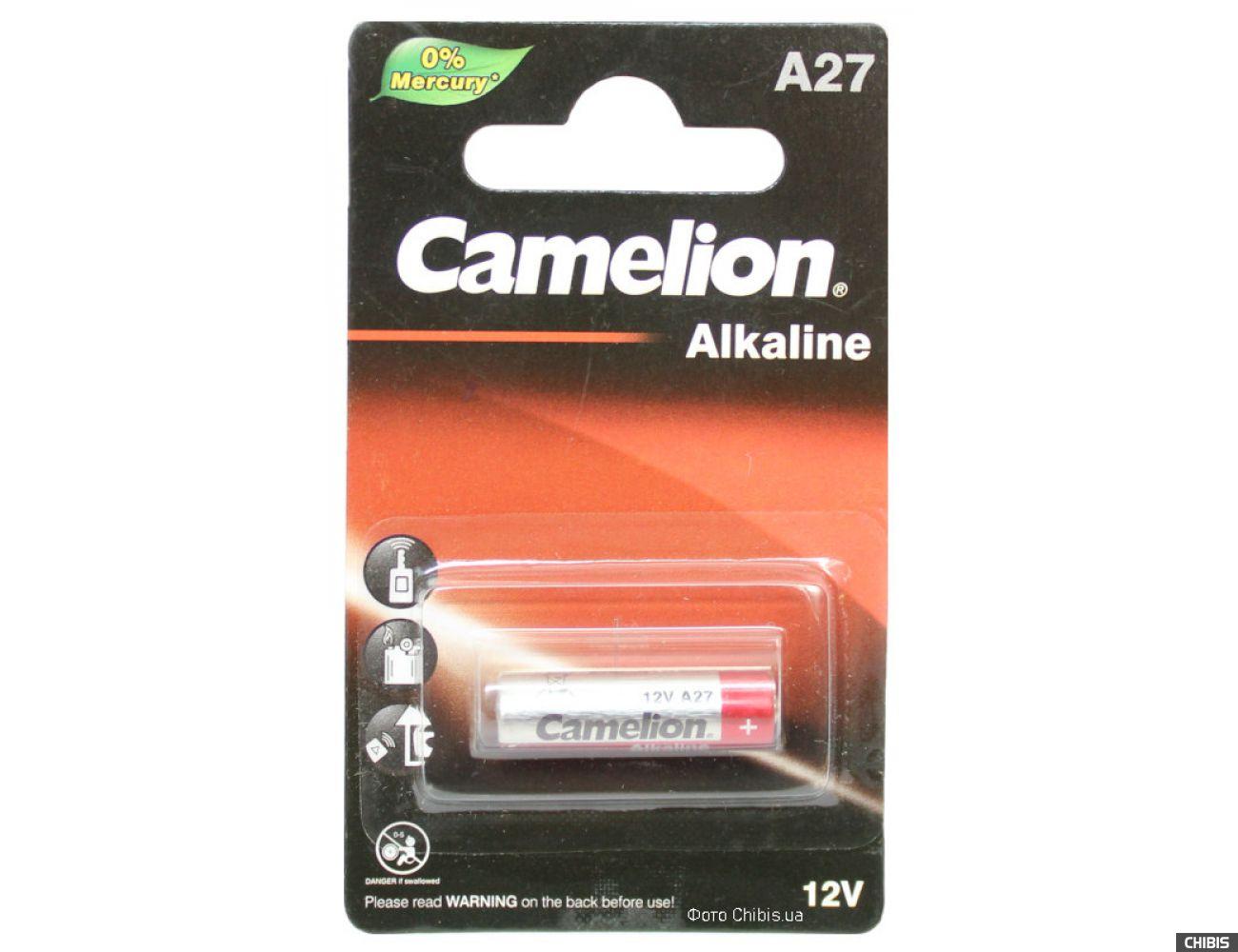 Батарейка A27 Camelion 12V Щелочная 1 шт