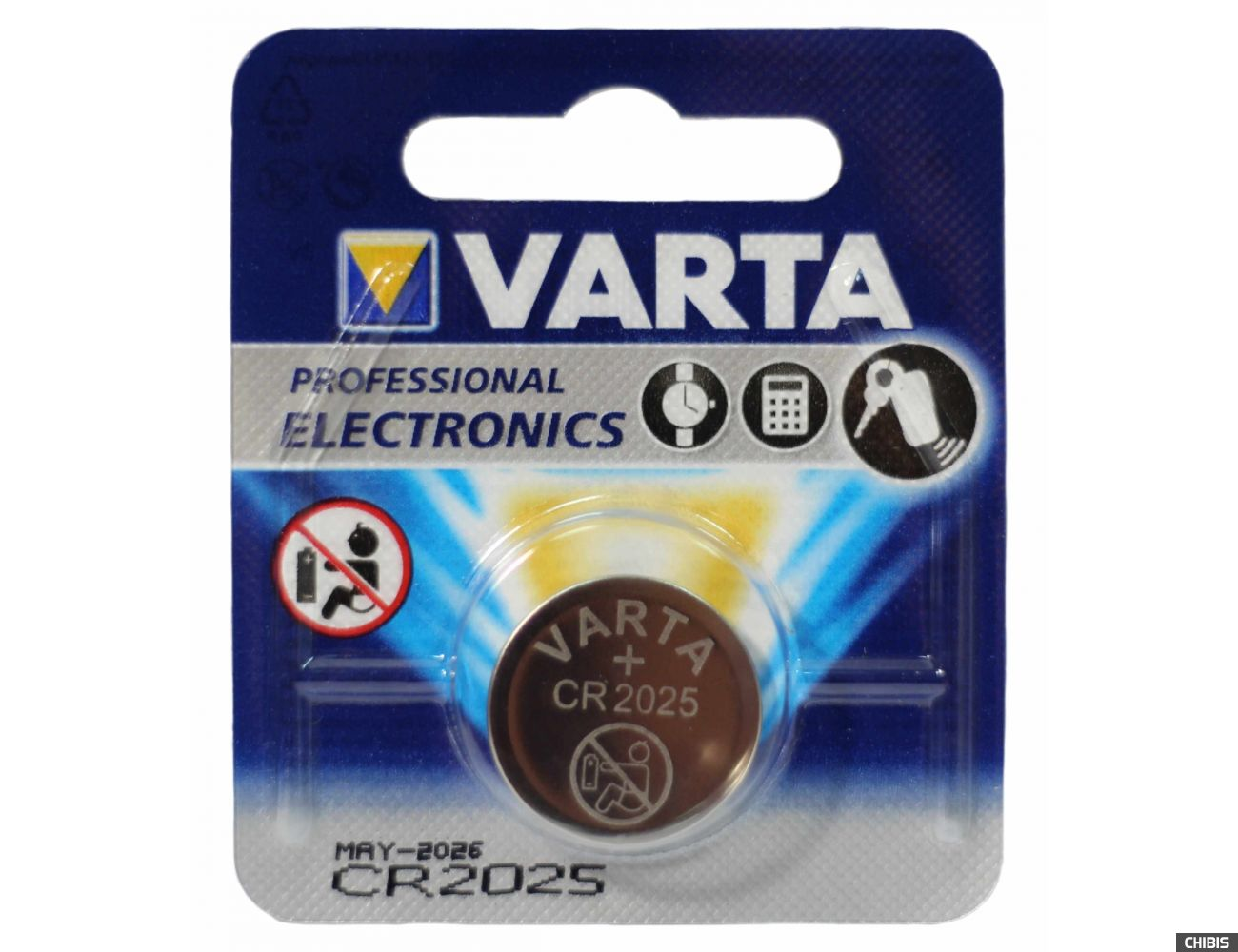 Батарейка Varta CR2025 Professional Electronics