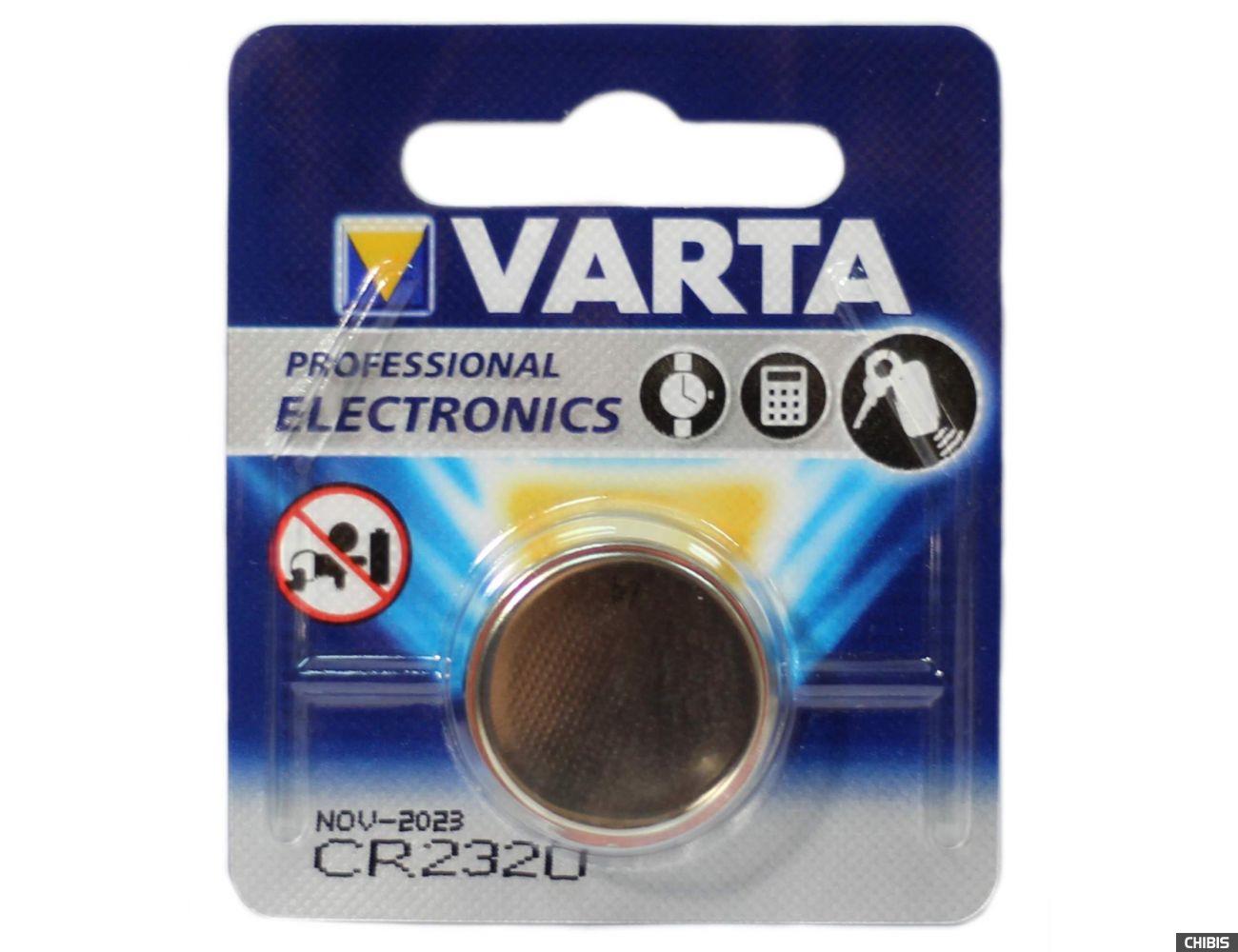 Батарейка Varta CR2320 Professional Electronics