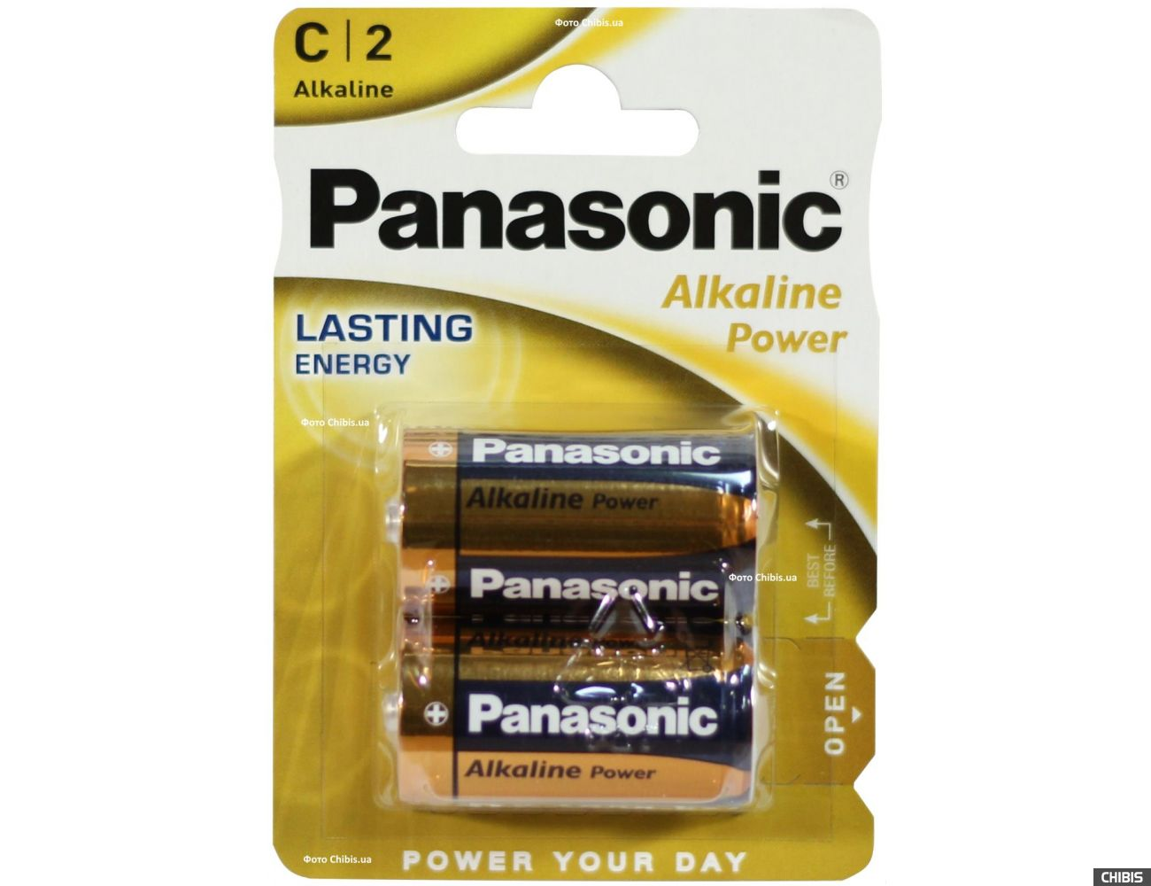 Батарейка LR14 Panasonic Alkaline Power C блистер 2 шт.