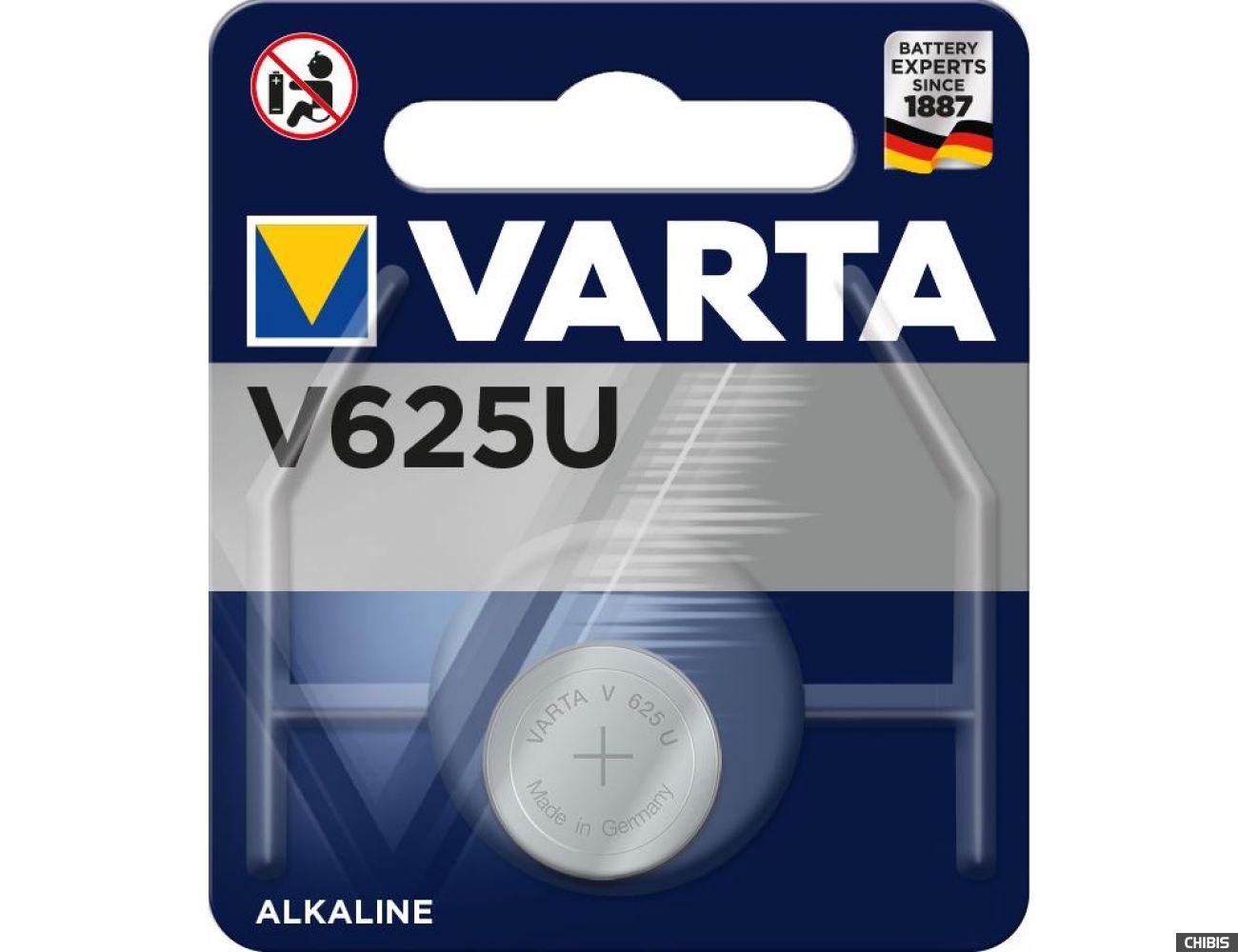Батарейка Varta V625U Professional Electronics
