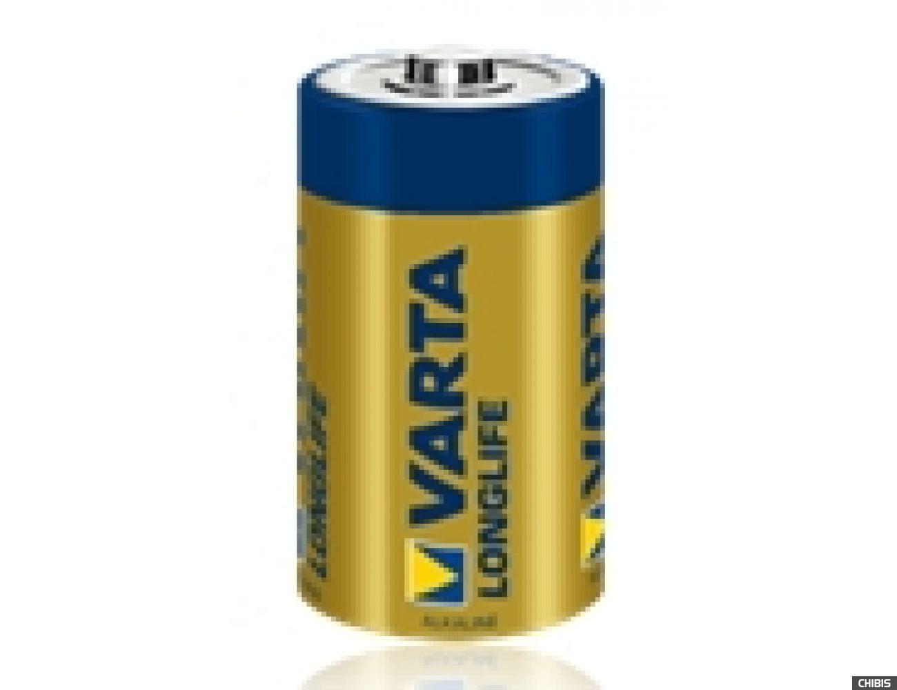 Батарейка Varta C Longlife Extra (LR14, 1.5V, Alkaline Щелочная) 04114101412  1/2 шт.