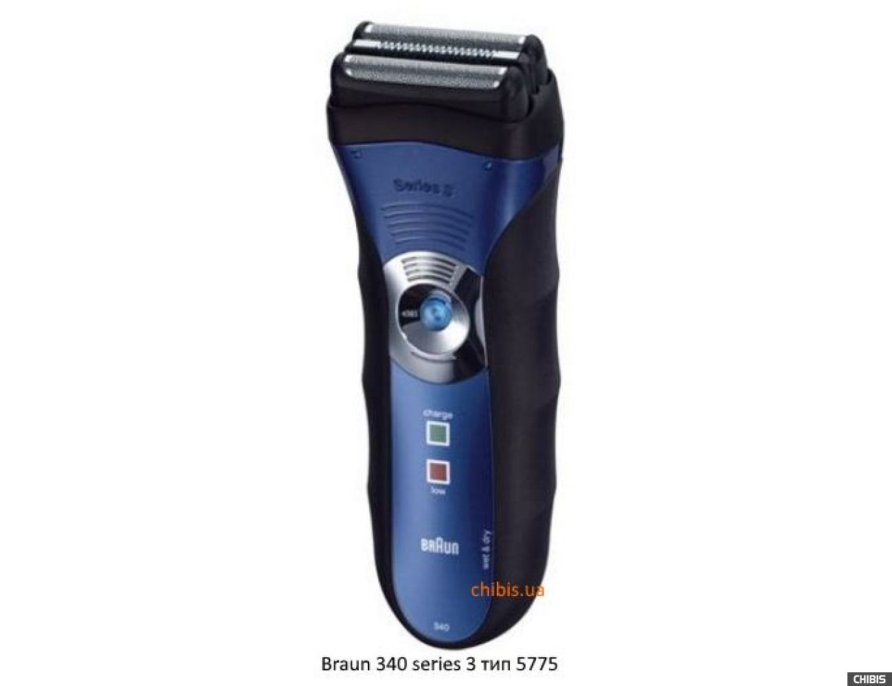 Braun 340 series 3 тип 5775