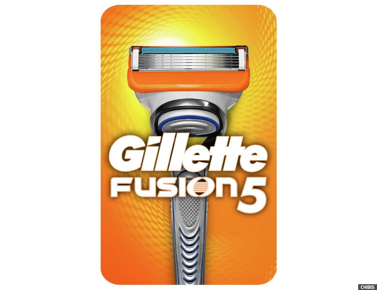 Станок Gillette Fusion с 1 лезвием
