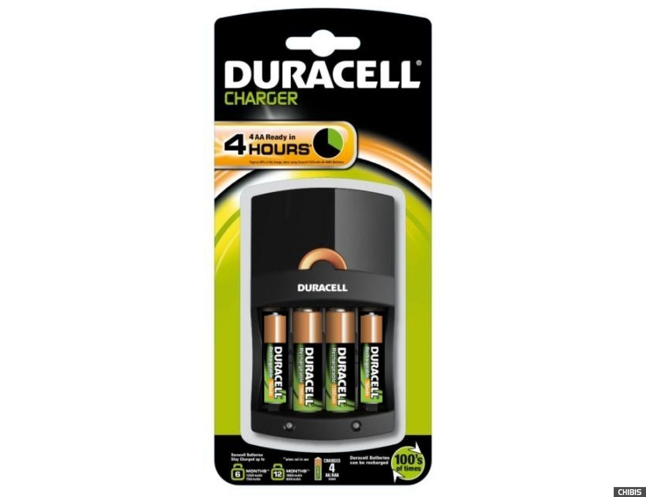 Зарядное устройство Duracell CEF14 + 2/2 - 1700AA mAh, 750AAA mAh 5000394007833