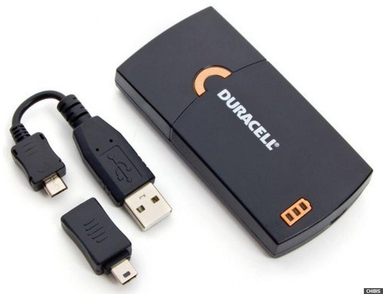 Зарядное устройство Duracell портативное USB емкостью 1150mAh 5000394024847