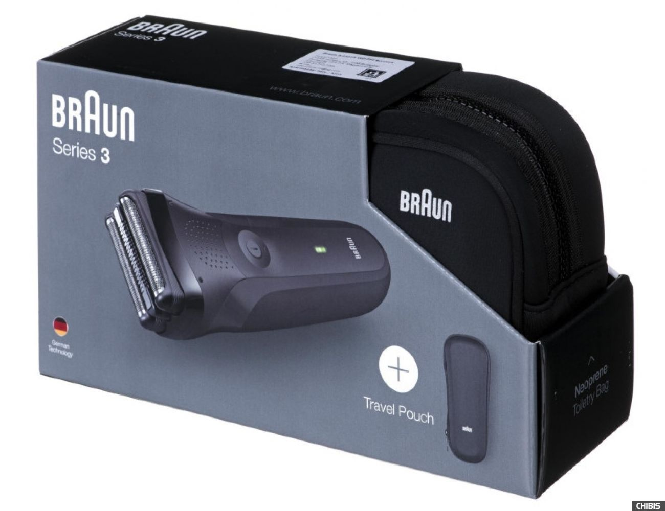 Электробритва Braun 300TS Series 3 - коробка