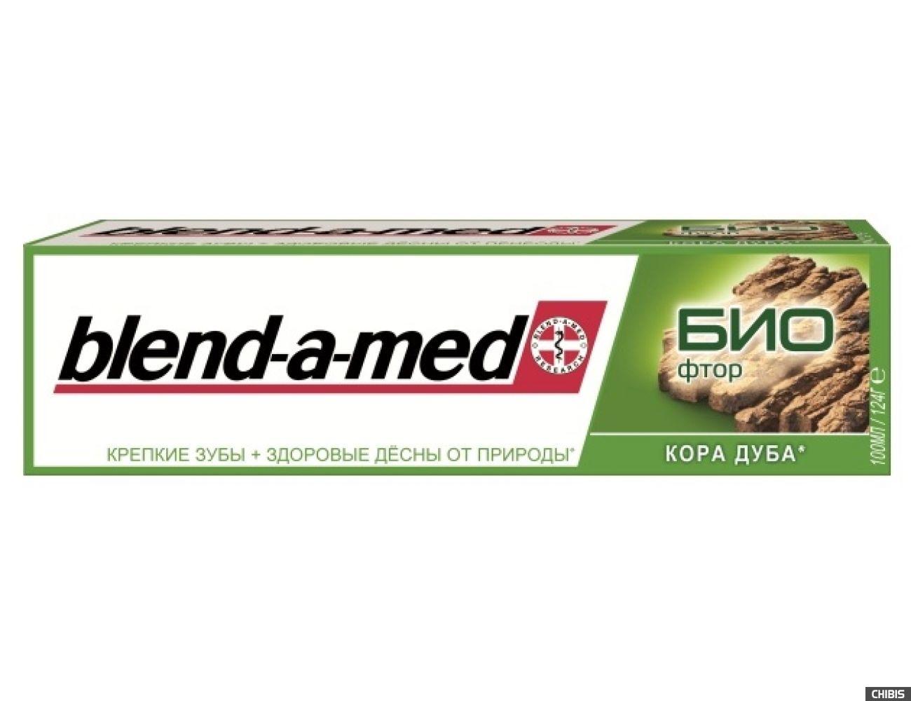Зубная паста Blend-a-med БИО Фтор Кора Дуба 100 мл.(5000174898538)