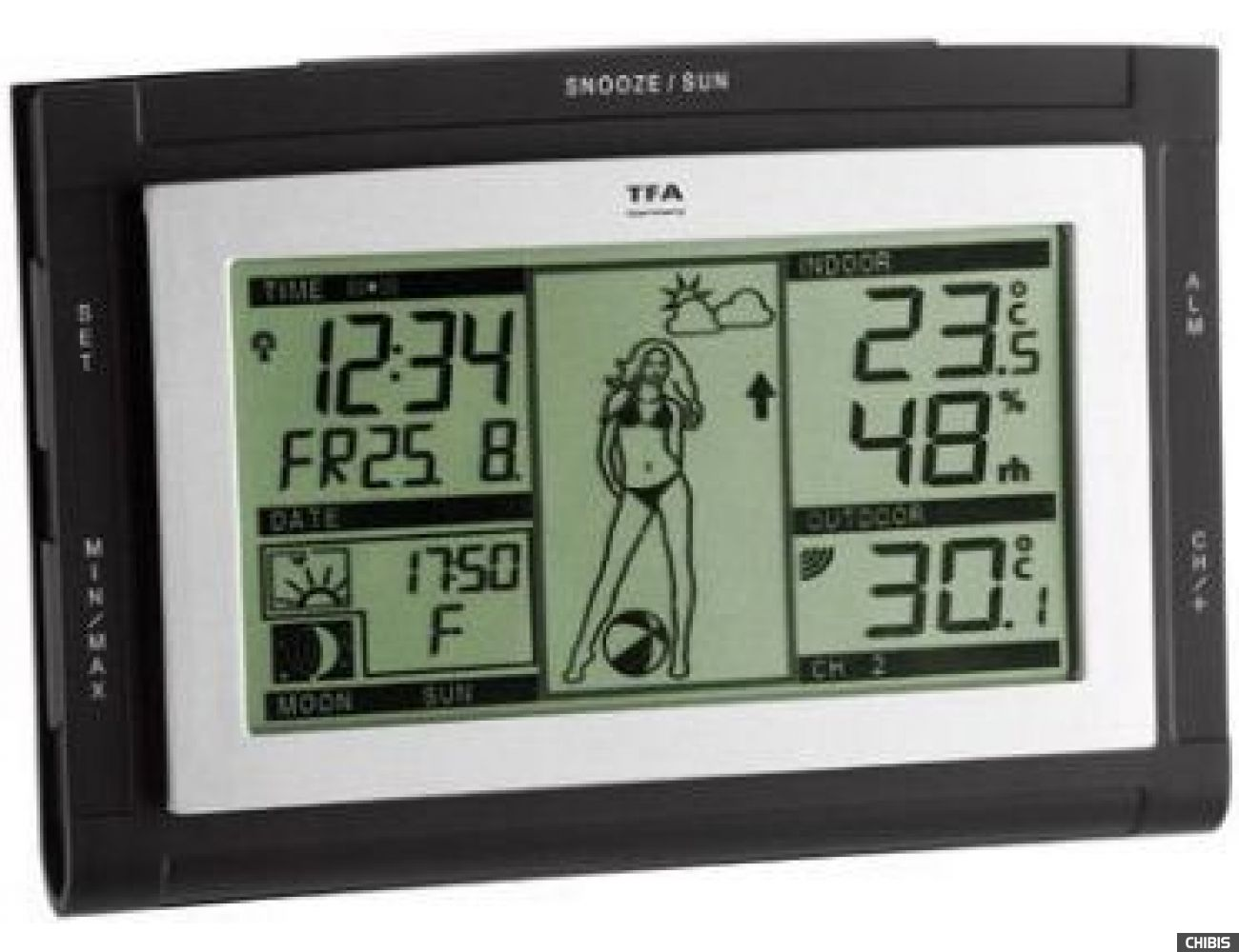 "Метеостанция TFA ""Weather Pam"" (3510760151.IT) 155х109х30 мм"