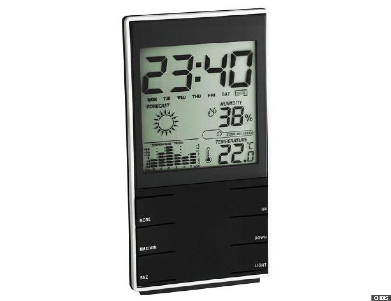 Термогигрометр TFA (35110201) чёрный