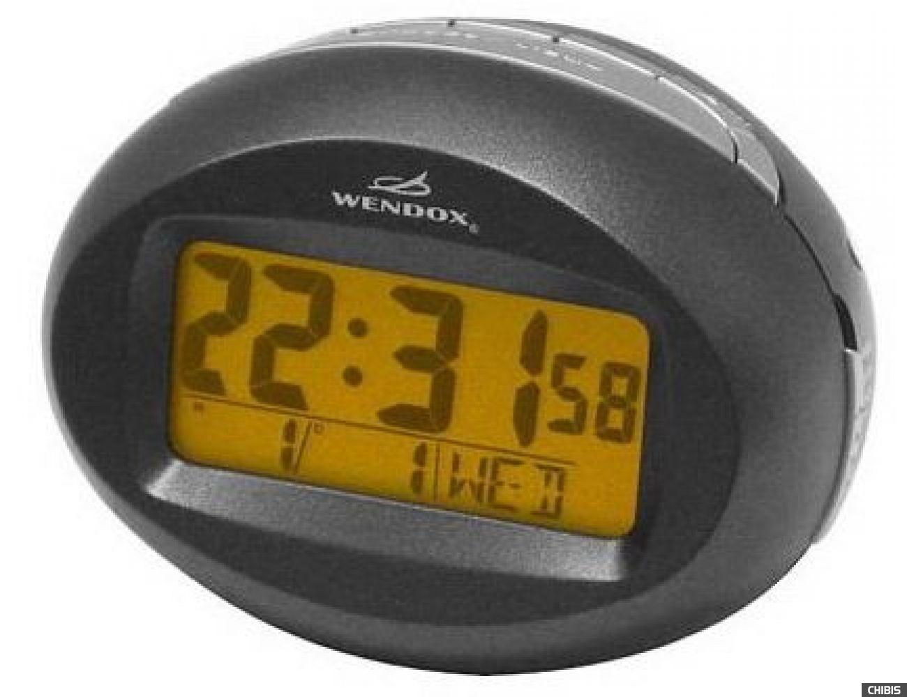 Настольные часы WENDOX W4442-BLACK