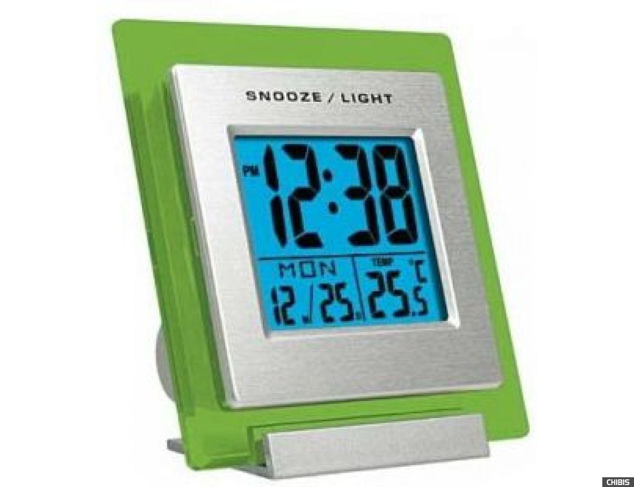Часы-будильник WENDOX W4390-GREEN