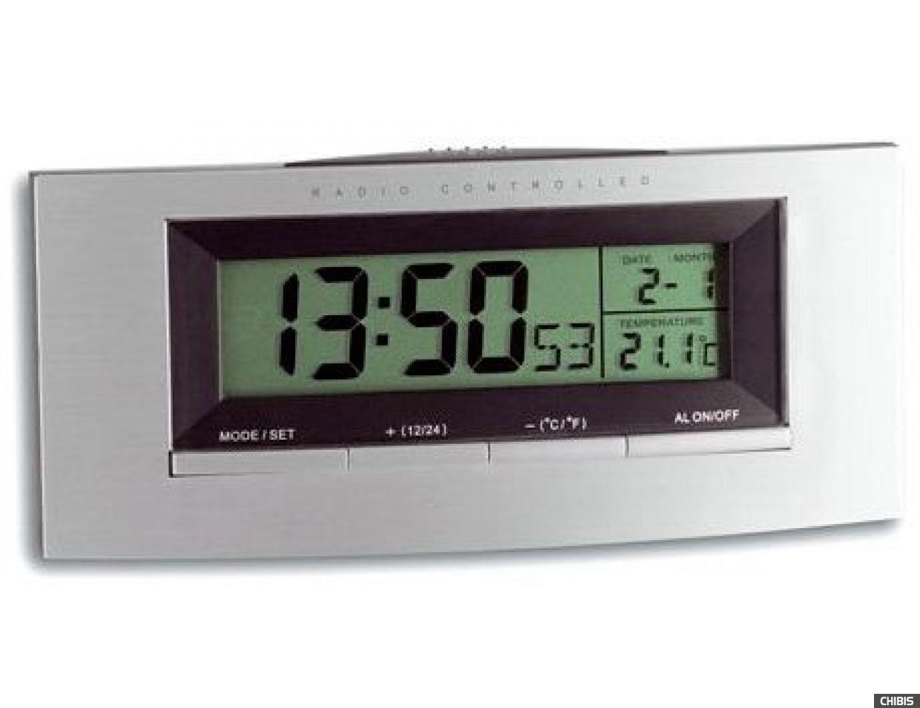 Настольные часы TFA (981030) 63х140х35 мм