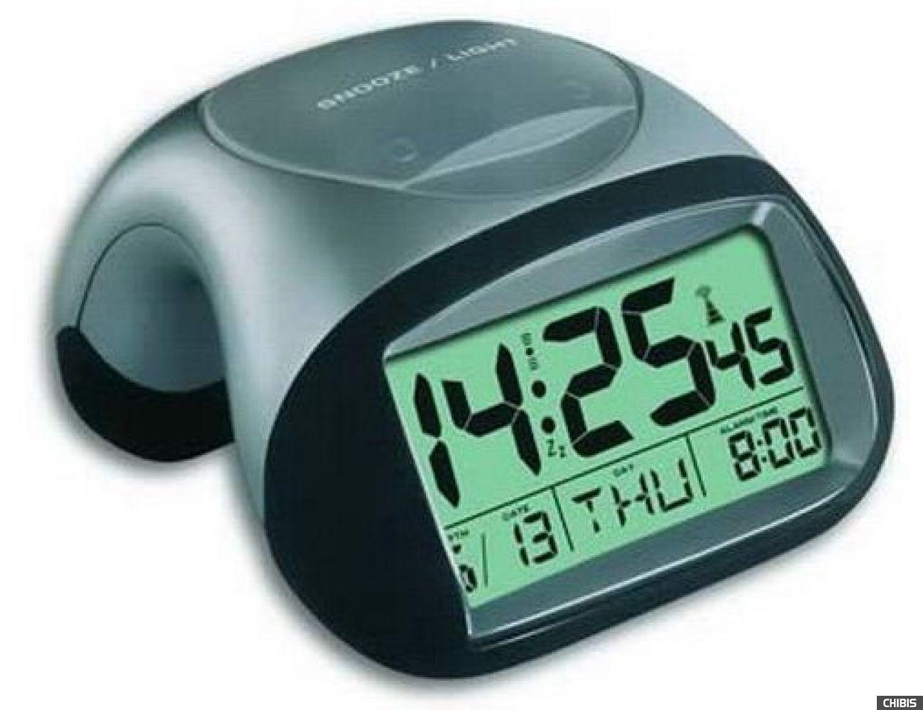 """Настольные часы TFA """"HIGLO"""" (981017) 70х105х116 мм"""