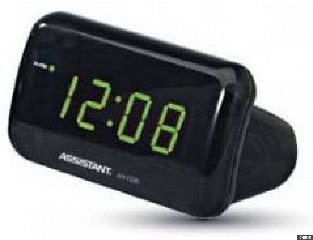 Настольные часы Assistant АН-1026 green