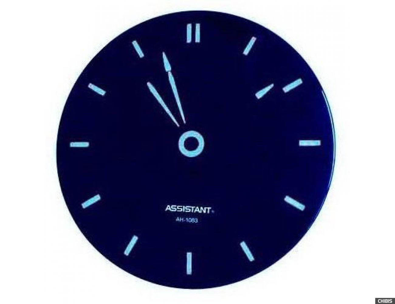 Часы настенные Assistant AH-1083 blue