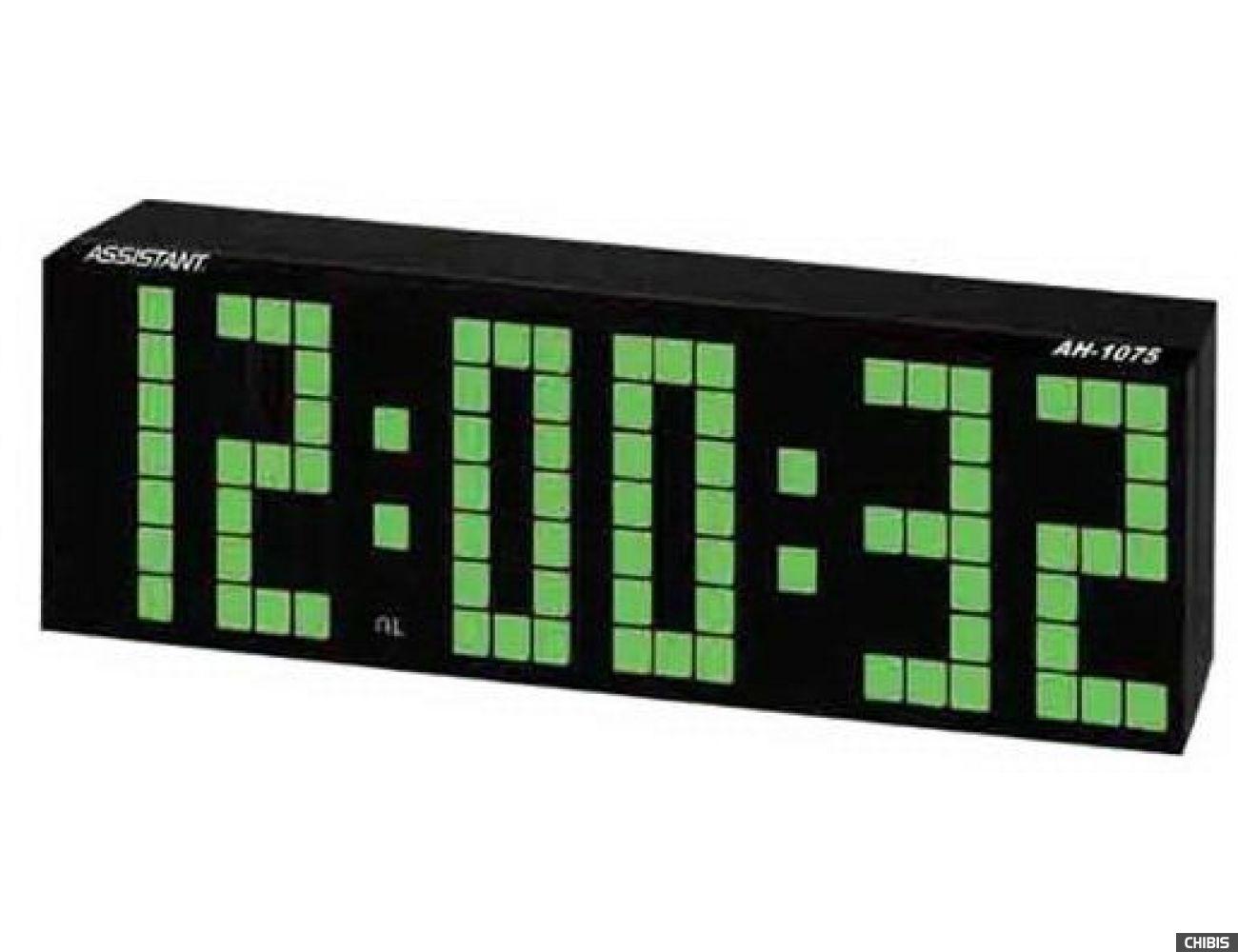 Настольные часы Assistant AH-1075 green