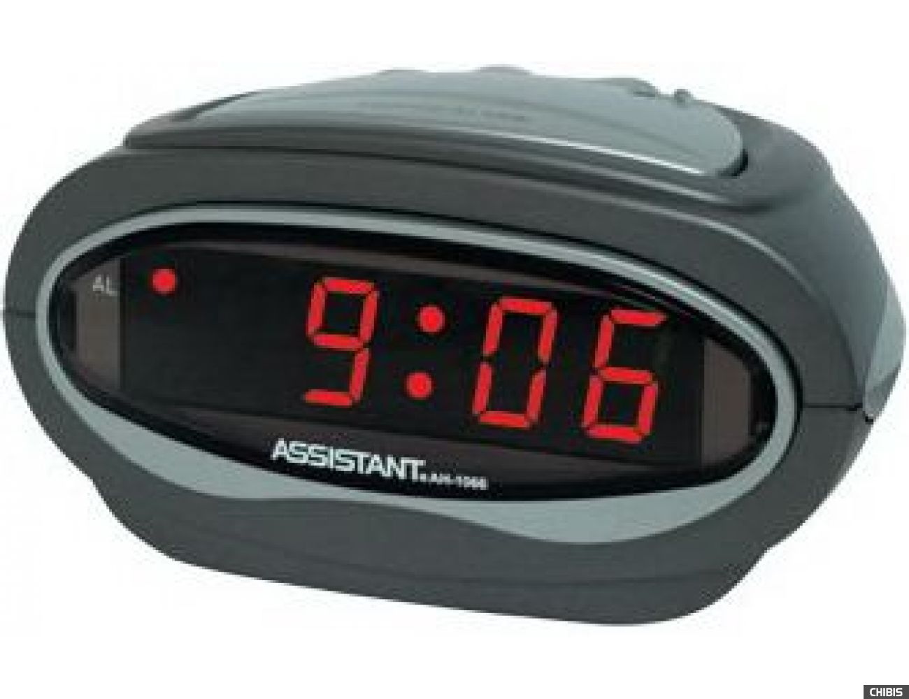 Настольные часы Assistant AH-1066 green