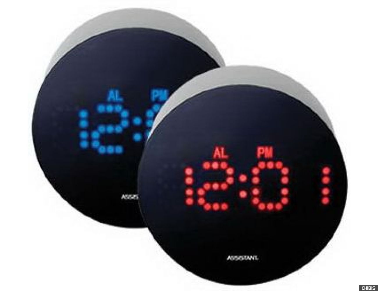 Настольные часы Assistant AH-1025 blue