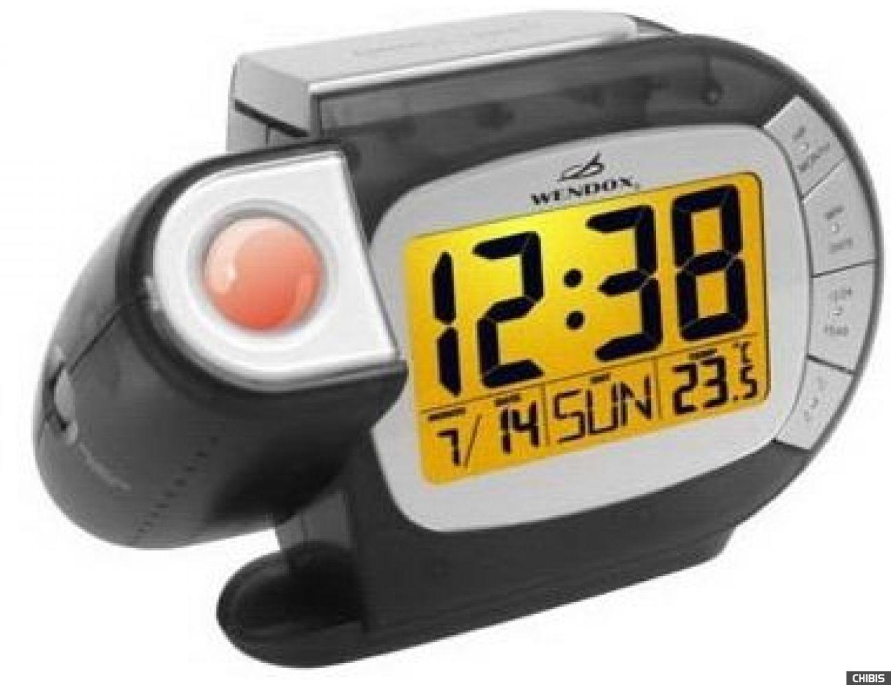 Проекционные часы WENDOX W692L-CLEAR BLACK