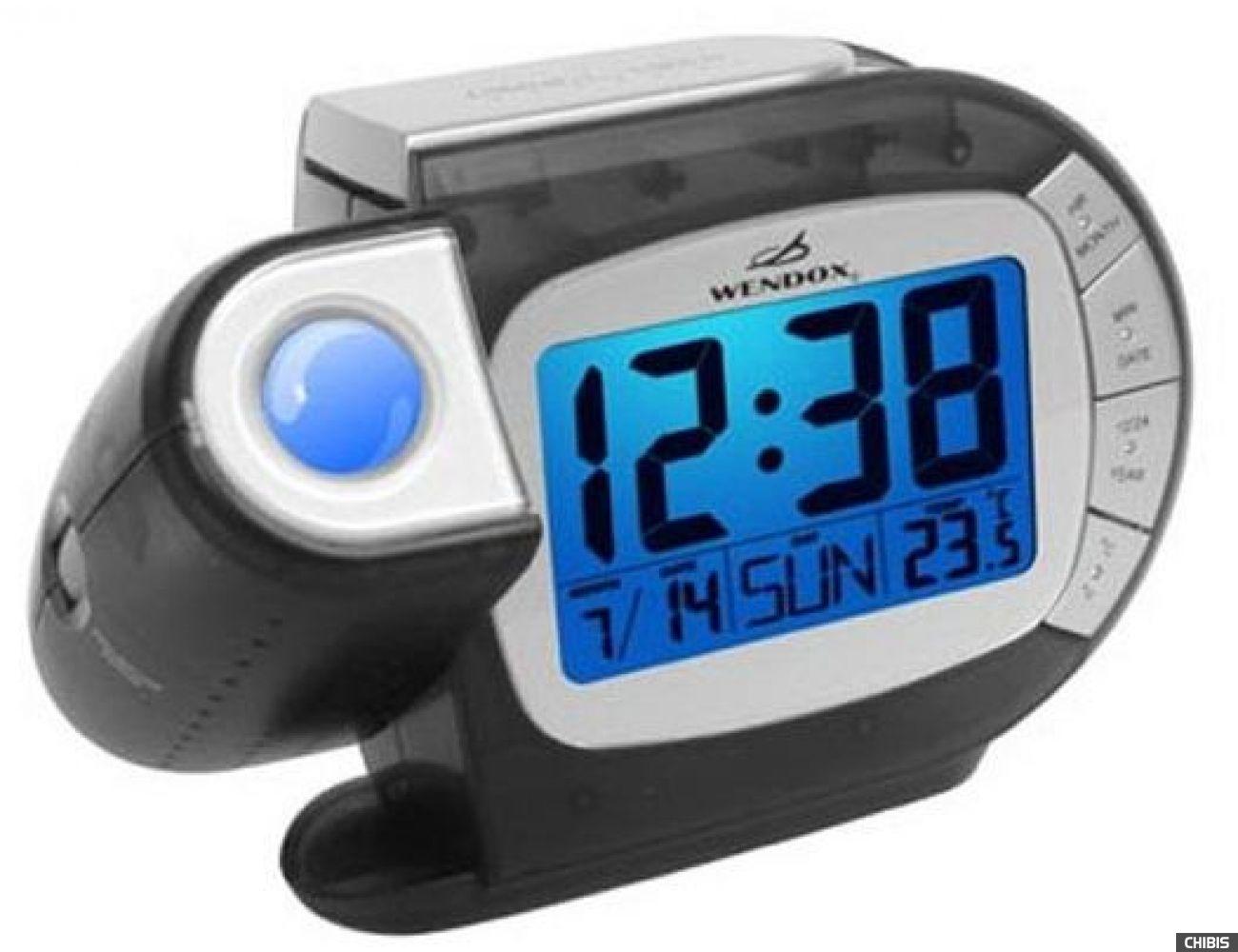Проекционные часы WENDOX W692E-CLEAR BLACK