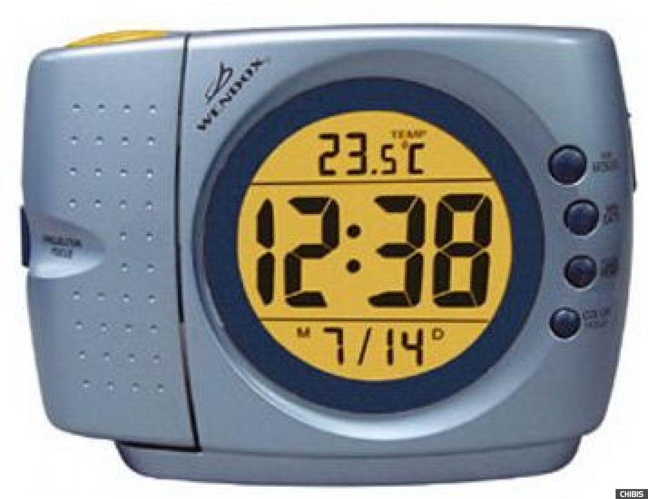 Проекционные часы WENDOX W296E-LIGHT BLUE ME