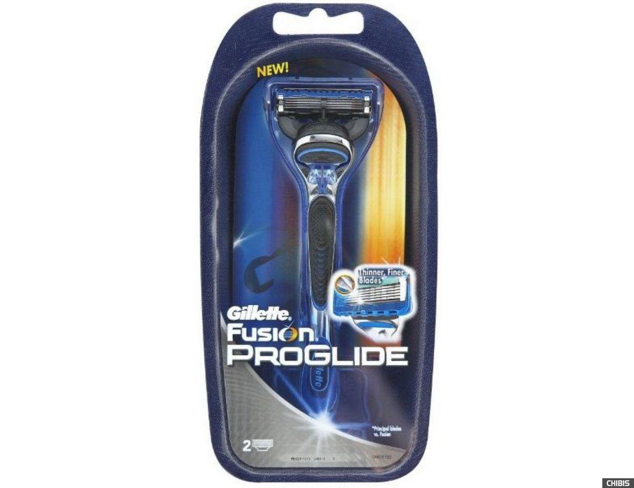 Gillette Fusion ProGlide станок с 2 лезвиями 7702018084845
