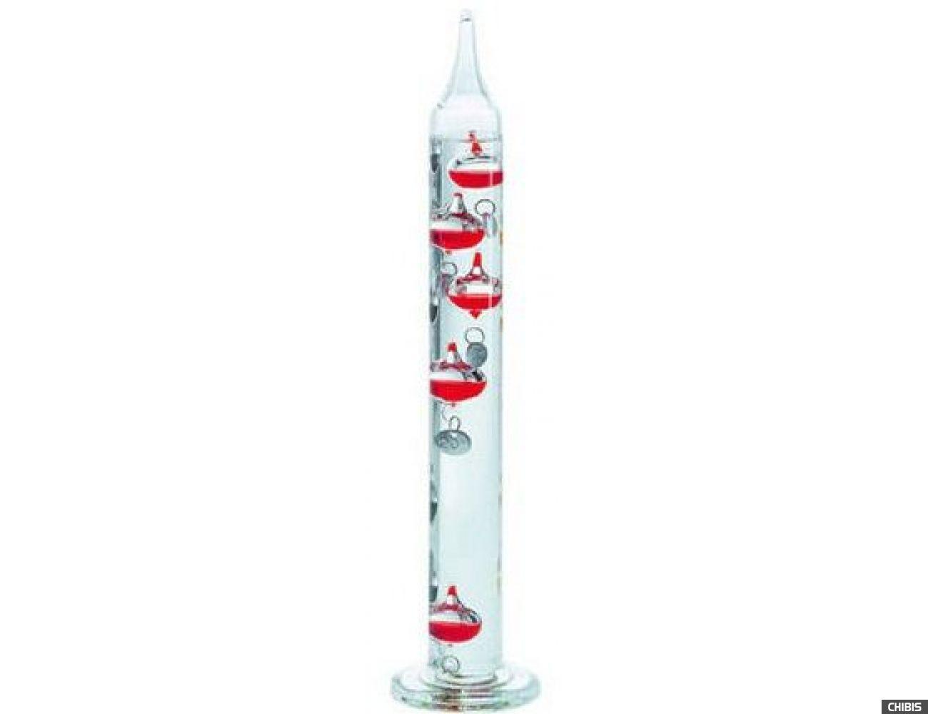 Термометр Галилея TFA (1810060454) бордовый, 18-26 'С