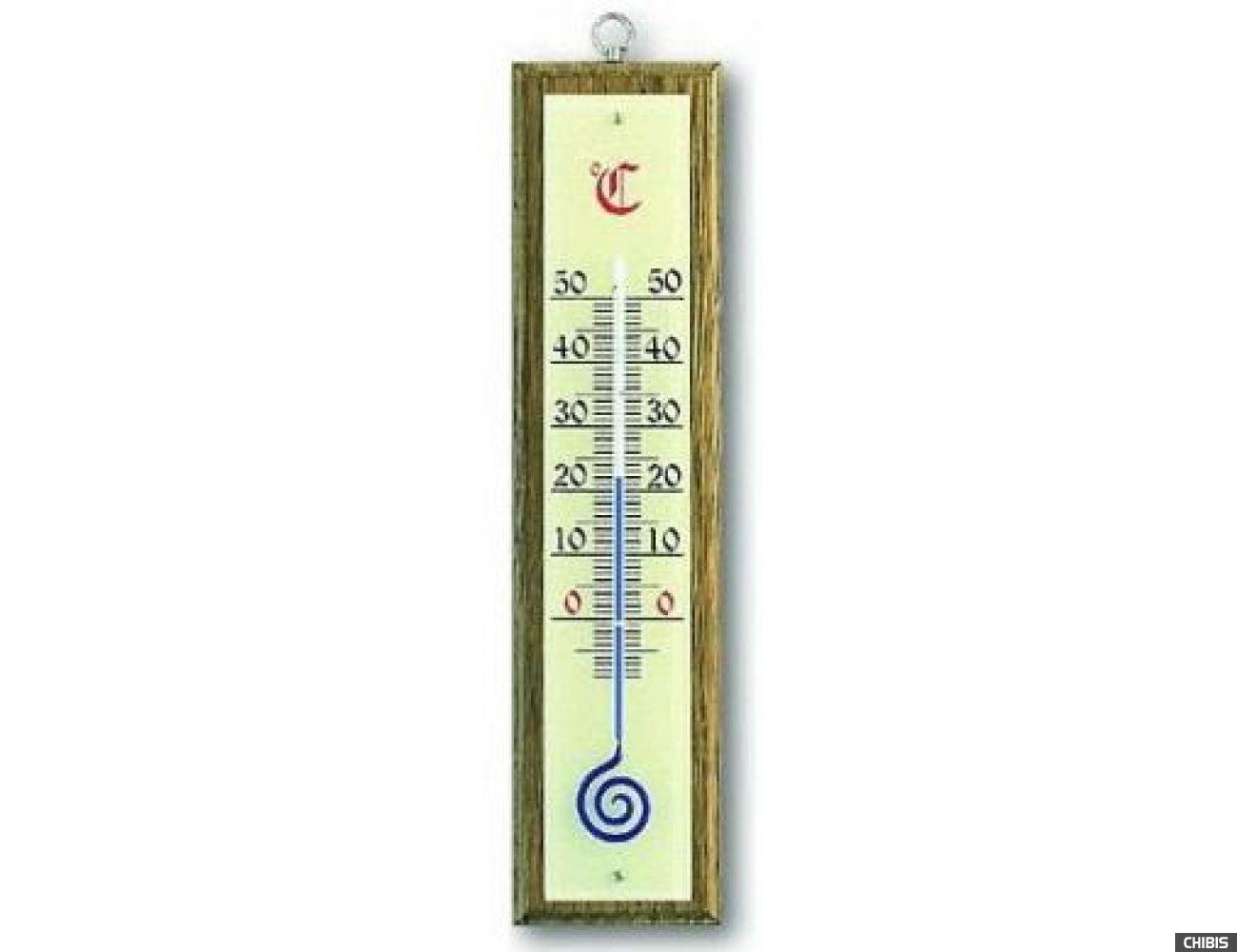 Термометр TFA (121021) комнатный, орех