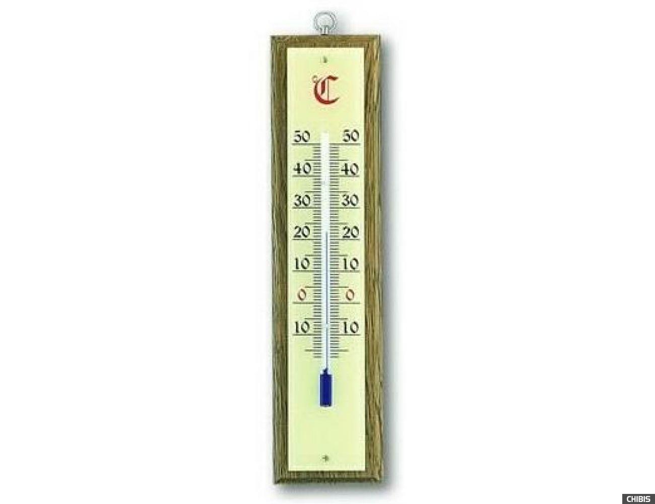 Термометр TFA (121020) комнатный, дуб