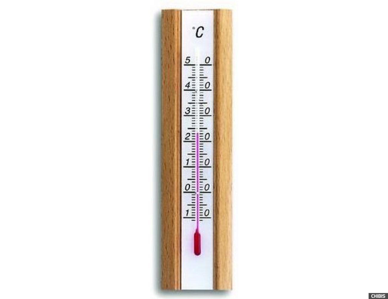 Термометр TFA (12101905) комнатный, бук
