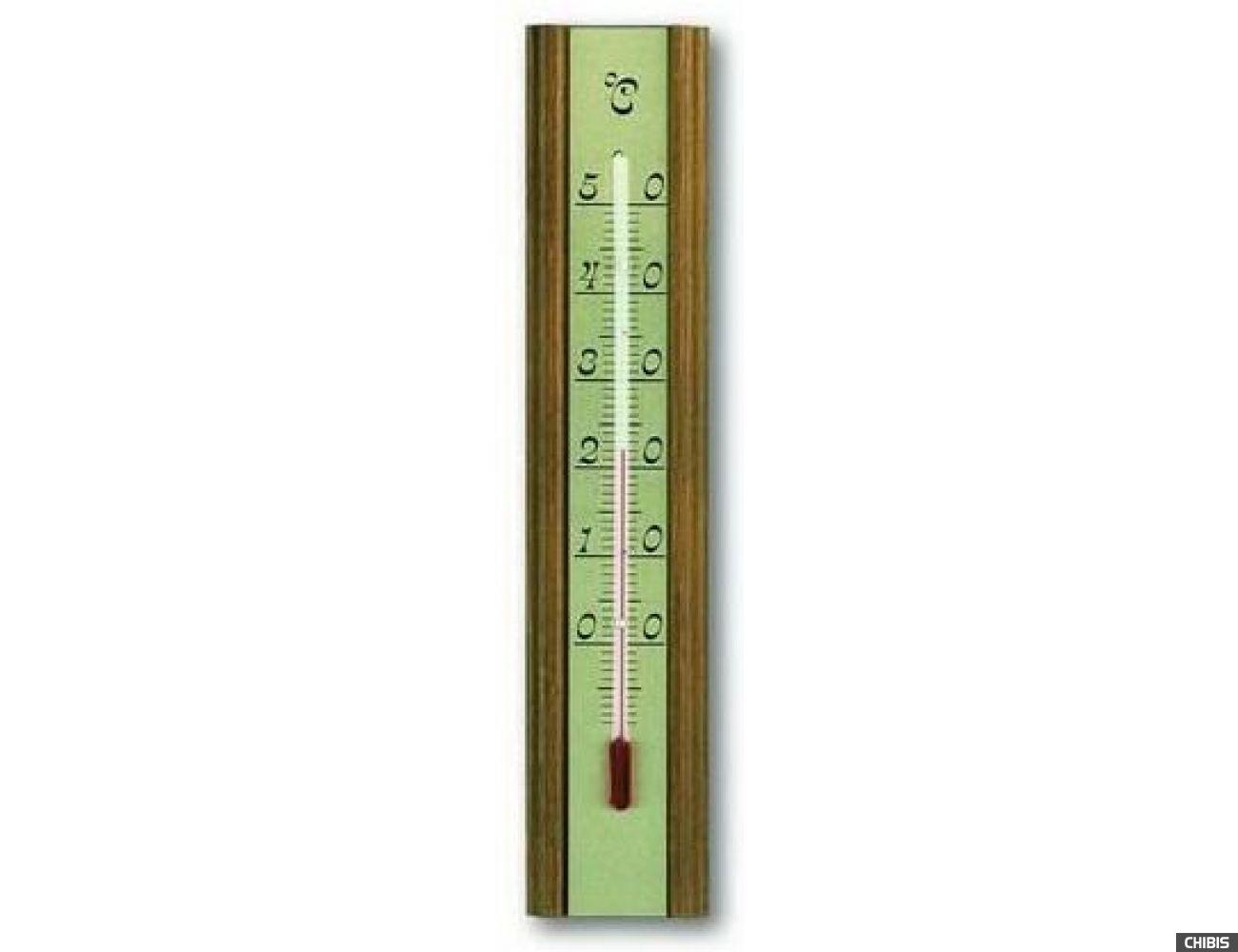 Термометр TFA (121016) комнатный, дуб