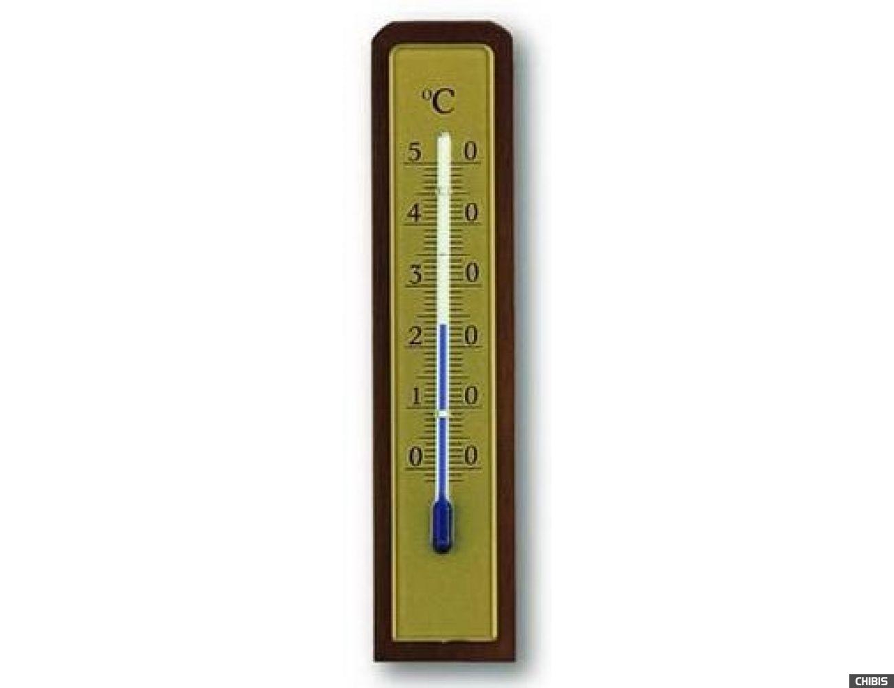 Термометр TFA (121009) комнатный, орех