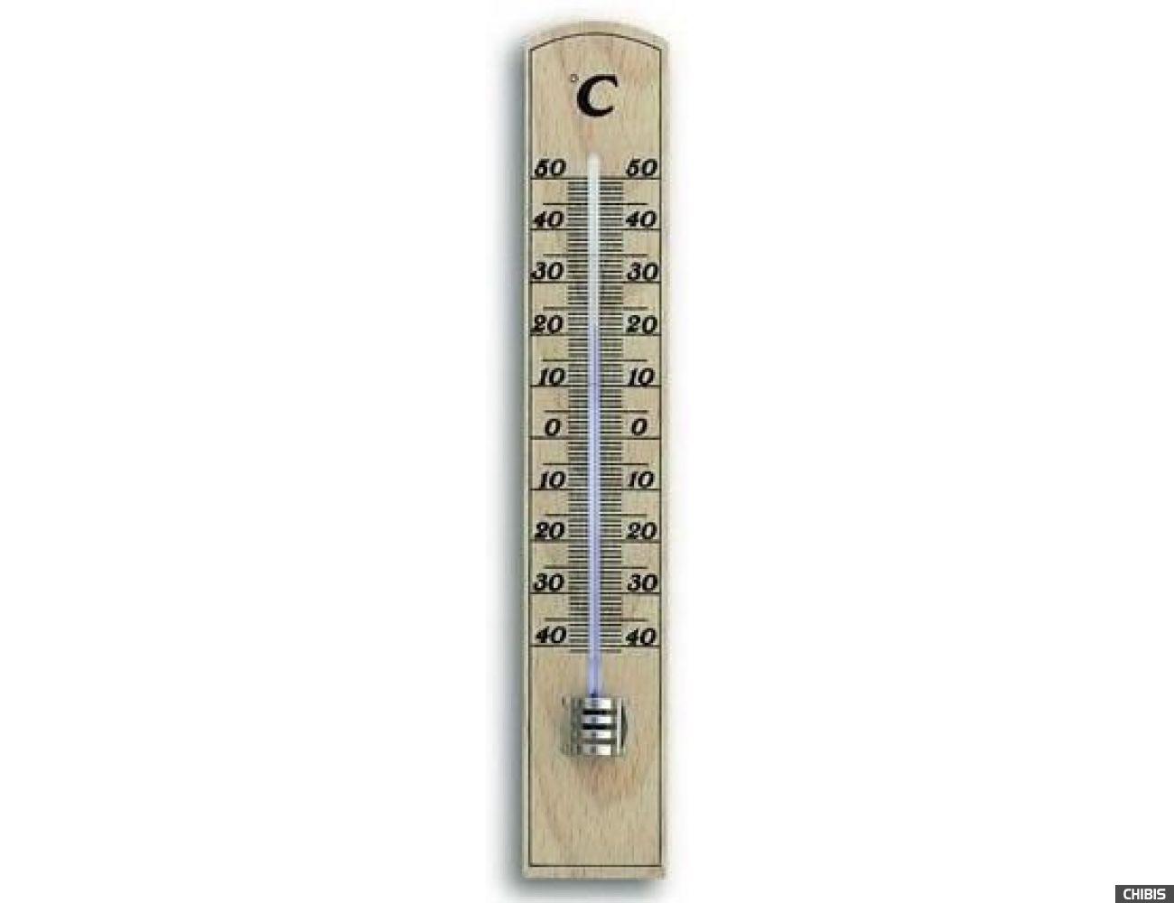 Термометр TFA (121004) комнатный, бук