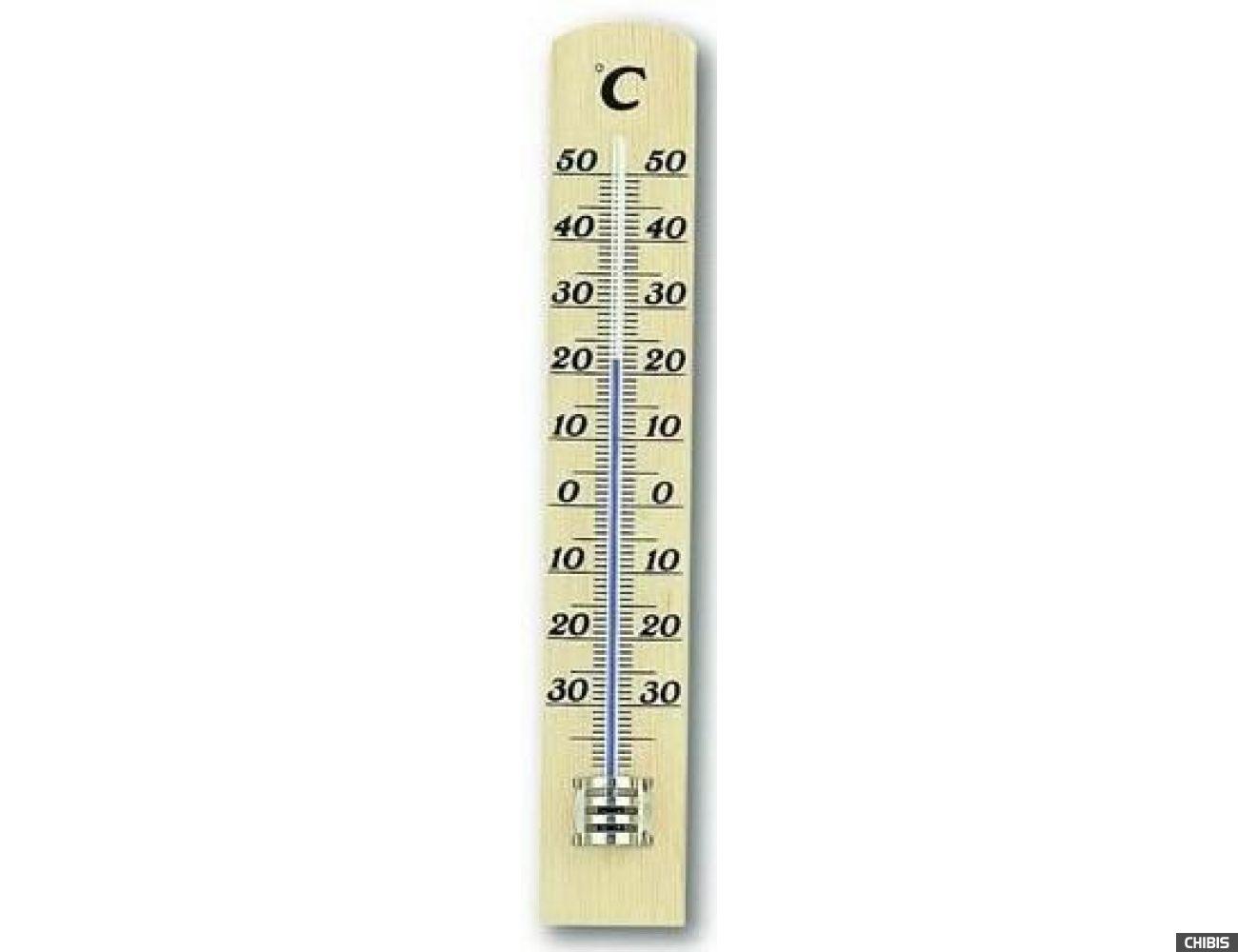 Термометр TFA (12100305) комнатный, бук
